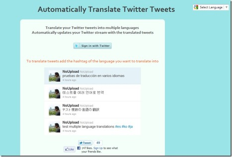 Post Tweets In Multiple Languages With Automatically Translate Twitter Tweets   Time to Learn   Scoop.it