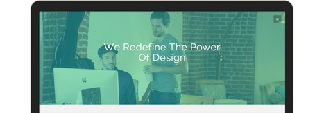 Link - Bootstrap 3 Agency Theme | Freakinthecage Webdesign Lesetips | Scoop.it