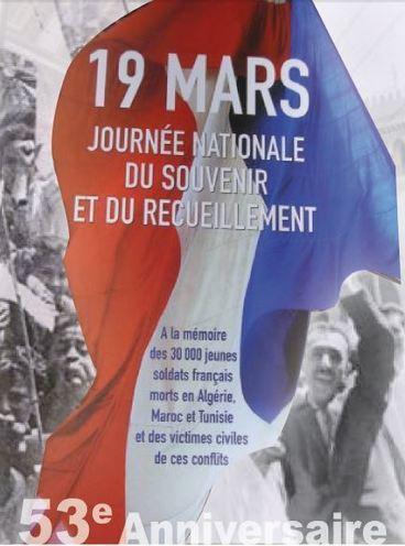 19/03/15 - Pont de l'Arche – Cérémonie commémorative – 53ème anniversaire du Cessez le feu en Algérie | Dans la CASE & Alentours | Scoop.it