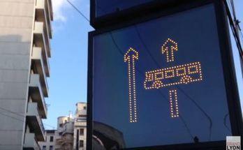 Lyon expérimente les couloirs de bus dynamiques | 694028 | Scoop.it
