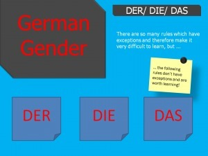 German Grammar - Gender - Angelika's German Tuition & Translation | Angelika's German Magazine | Scoop.it