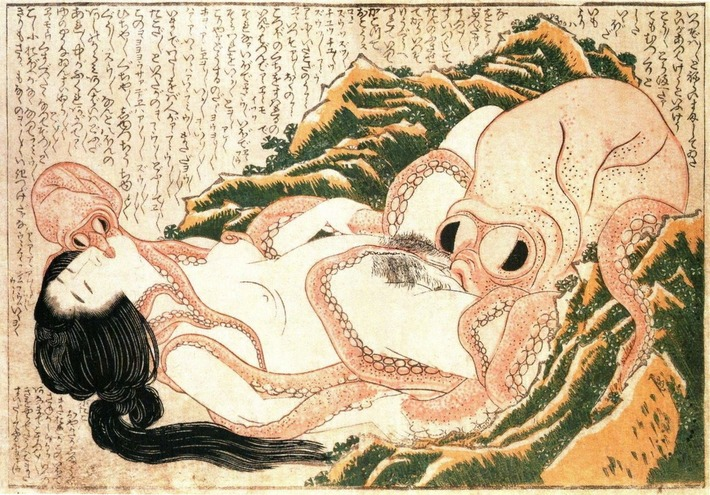 Explicit Japanese Art on Display at British Museum | Sex History | Scoop.it