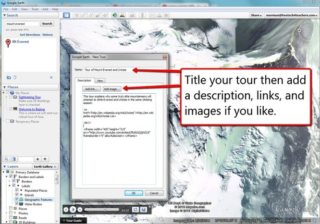 How to create placemarks and tours in Google Earth | Time to Learn | Scoop.it