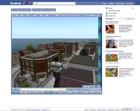 New World Notes: Coming Soon: 3D Plugin for OpenSim in Facebook ... | I want a Second Life | Scoop.it
