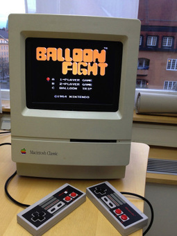 MAKE | Macintosh Classic modded with NES and Raspberry Pi | Scoop4learning | Scoop.it