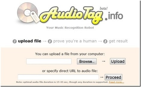AudioTag: Online Music Recognition Tool | Time to Learn | Scoop.it