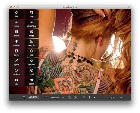 Pixlr Desktop – Un outil gratuit pour retoucher vos photos « | Retouches et effets photos en ligne | Scoop.it