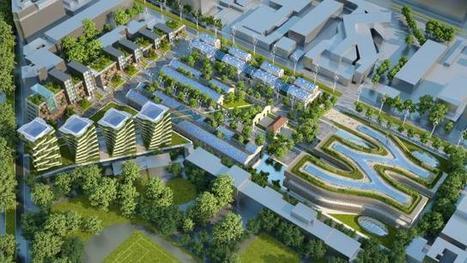 Architecture un projet futuriste pour une rome for Architecture du futur