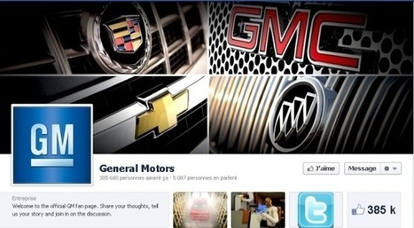 General Motors: «La pub sur Facebook, ça ne marche pas»   Slate   Industrie 4.0   Scoop.it