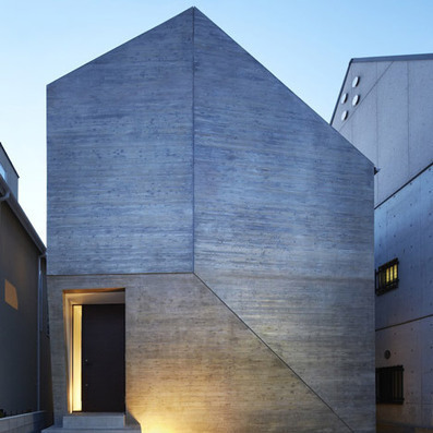 Shirokane House by MDS concealed behind windowless concrete facade | Architecture and Design | Scoop.it