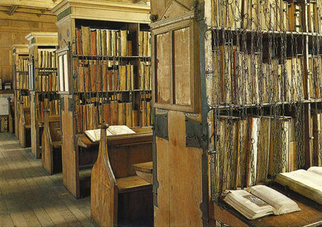 Medieval Libraries Developed A Crude GPS System To Locate Books | DOCUARCH | Scoop.it