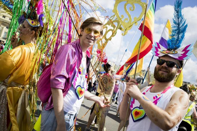 Thousands line streets for massive Brighton Pride celebration