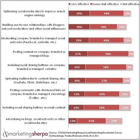 Marketing Chart: Agencies Rate Effectiveness of Social Media Tactics     Bakas MediaBakas Media   Travel Bites &... News   Scoop.it