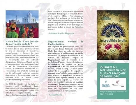 Les Journées du Patrimoine | en Inde - activité | beaux sites et villages de France - France nicest villages and sites | Scoop.it