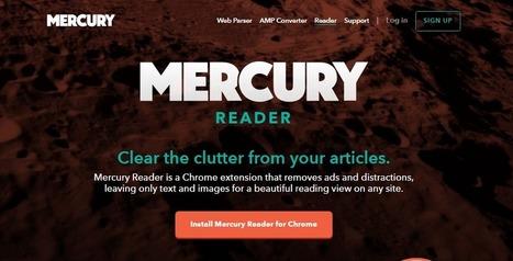 Lee en la web sin distracciones con esta extensión | Educacion, ecologia y TIC | Scoop.it