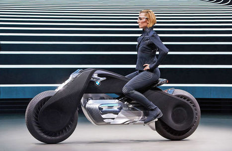 BMW's Futuristic Artificial Intelligence Motorcycle Balances on Its Own | Amazing Science | Scoop.it