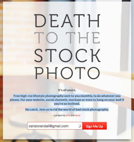 Death to the Stock Photo | Web Development & Design | Scoop.it