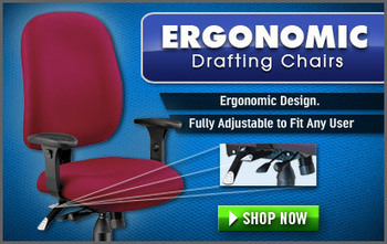Ergonomic Drafting Chairs and Drafting Stools - Free Shipping! | Cool Stuff for the Home & Garden | Scoop.it