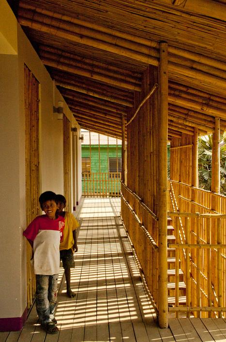Centro Juvenil en Camboya: el Bambú al servicio de la Comunidad | Architecture and Design | Scoop.it