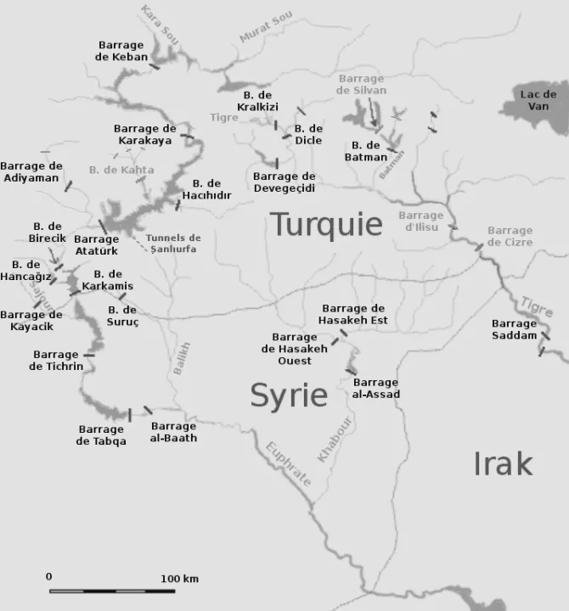 La TURQUIE mène une guerre de l'eau en Syrie