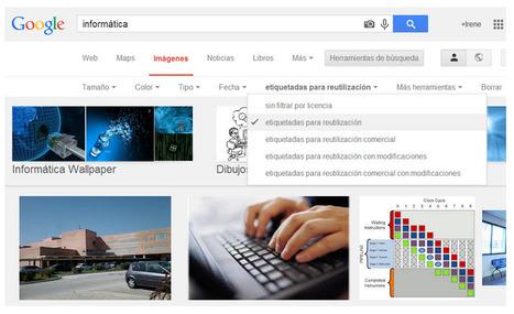 Cómo buscar imágenes sin derechos de autor en Google Imágenes | notícies TIC | Scoop.it