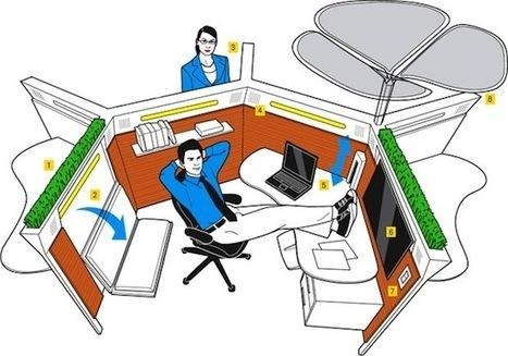 La collaboration et la productivité passe aussi par une réorganisation du lieu de travail - Entreprise20.fr | La formation et l'emploi | Scoop.it