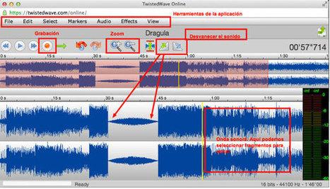 TwistedWave, práctica herramienta para editar audios de forma online | Nuevas tecnologías aplicadas a la educación | Educa con TIC | Herramientas web 2.0 | Scoop.it