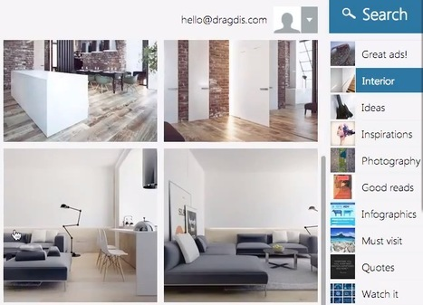 Collect, Organize and Search Any Text, Image or Video You Find on the Web with Dragdis | SocialMediaDesign | Scoop.it