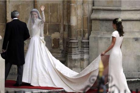 Des dentelles de Caudry sur la robe de Kate Middleton! | A la rencontre des ch'tis | Scoop.it