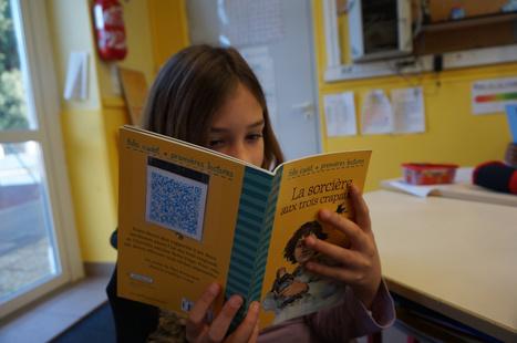 Lecture autonome et QR codes | pedagogie, TICE handicap, FLE, EFL | Scoop.it