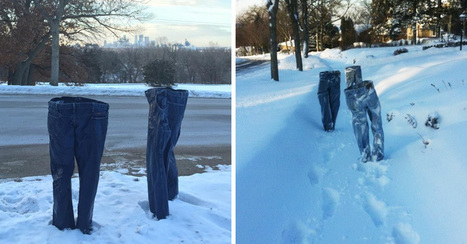 This Hilarious Winter Prank Is Driving Minnesota Crazy | Strange days indeed... | Scoop.it