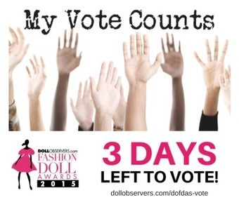 3 Days Left to Vote #DOFDAs | Fashion Dolls | Scoop.it