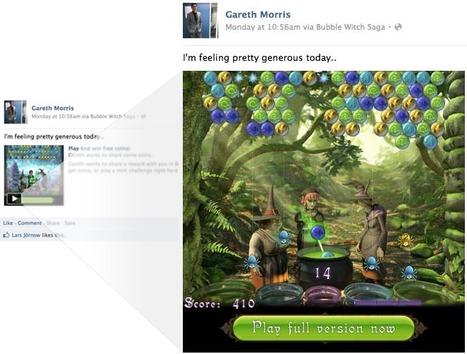 Accéder à un jeu directement depuis le flux d'actualités de Facebook - Développeurs Facebook | La communication digitale, Modedemploi | Scoop.it