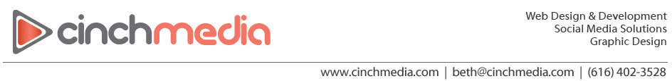 Cinch Media Web Design