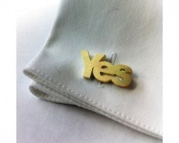 """""""A quarter of a million pounds spent by the two sides on promotional clothing,badges or flags"""" Gordon Glenister, Director General of the British Promotional Merchandise Association 