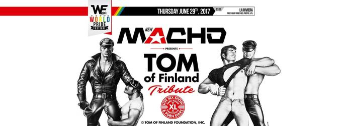 MACHO Party Presents: TOM Of Finland Tribute