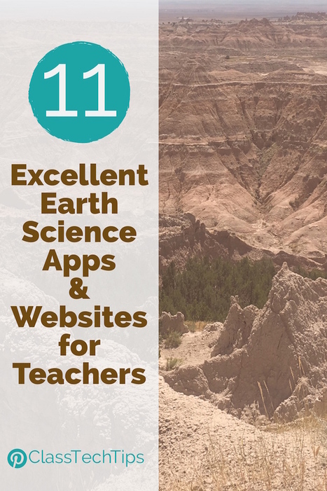 11 Excellent Earth Science Apps & Websites for Teachers - Class Tech Tips | iPad Learning Apps and Ideas | Scoop.it