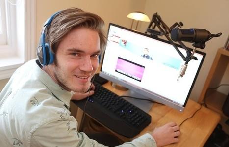 La star de YouTube PewDiePie va publier un livre en octobre - 20minutes.fr | Aventure littéraire | Scoop.it