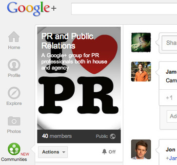 First look at Google+ Communities: the importance for brands, search and PR   Google Plus EXPERT M Boudreau   Scoop.it