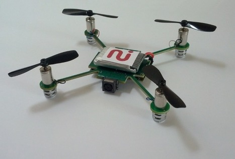 A nanocopter camera that follows you around, streaming video to your smartphone | KurzweilAI | tec2eso23 | Scoop.it