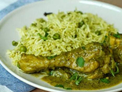 Goan Green Chicken Curry Recipe | food&drink | Scoop.it