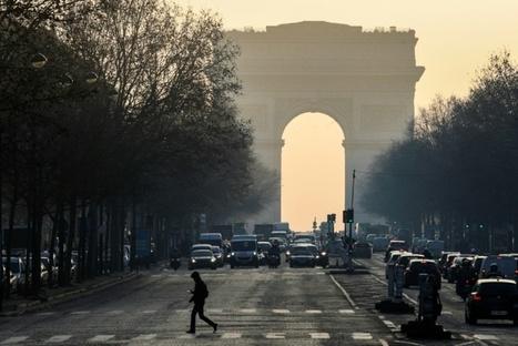 Pollution: la circulation différenciée reconduite mardi et mercredi à Paris | Planete DDurable | Scoop.it