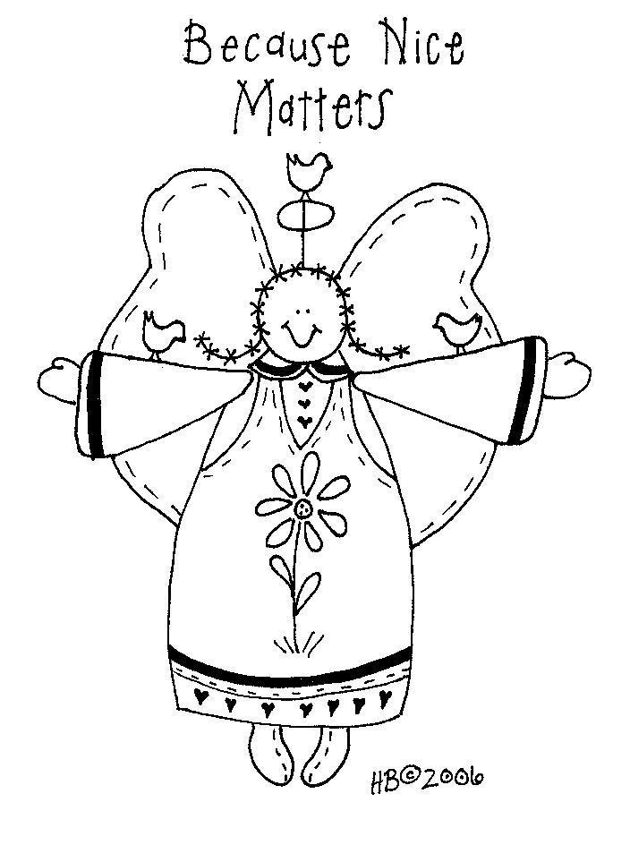 Free Primitive Everyday Embroidery Patterns