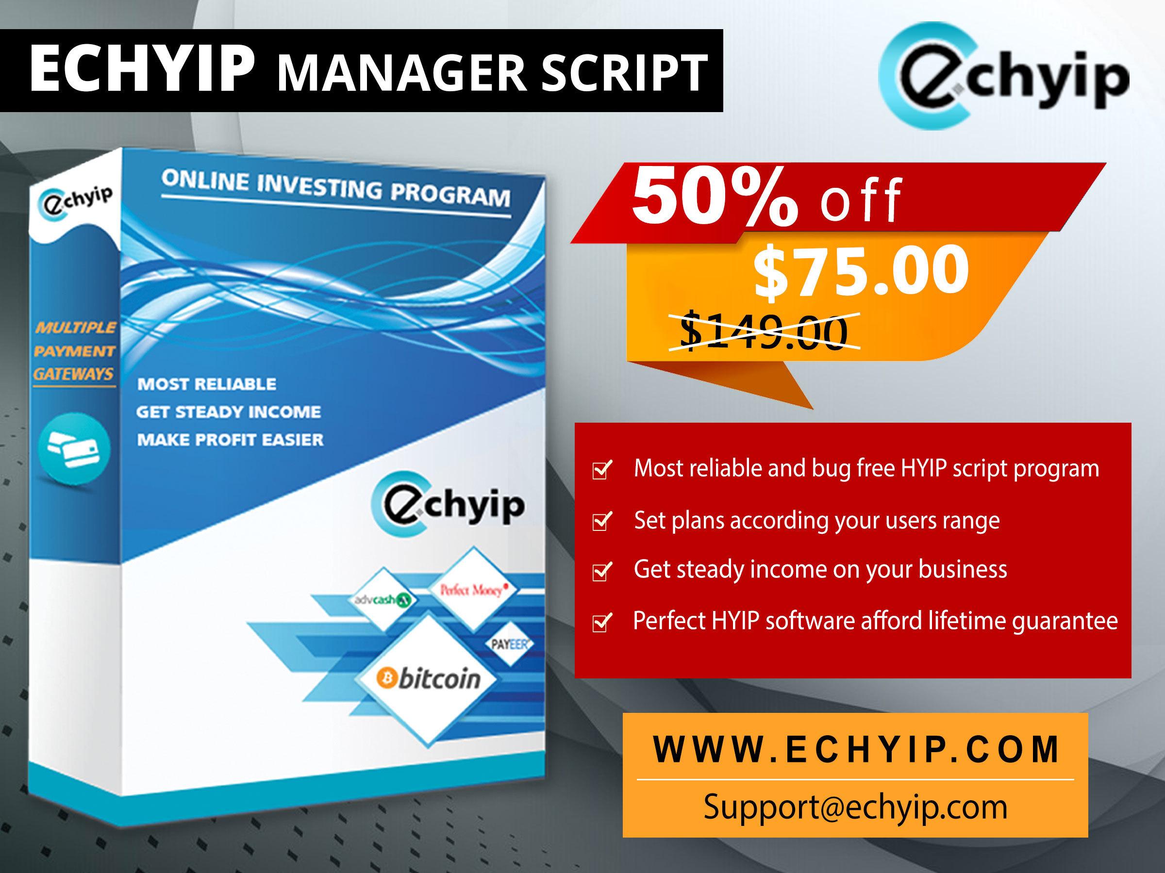 HYIP/Bitcoin Mining/ICO Script Software   Scoop it