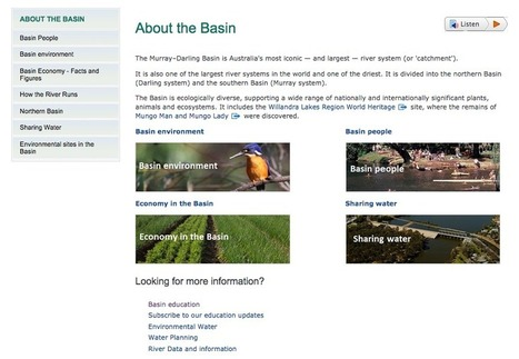 Murray River Kayak.: Educational Sites | SJC Science | Scoop.it