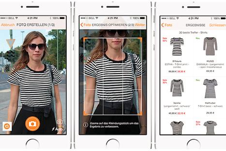 Le site de e-commerce Zalando teste la recherche de vêtements à partir d'une photo - La Revue du Digital | E-marketing Topics | Scoop.it