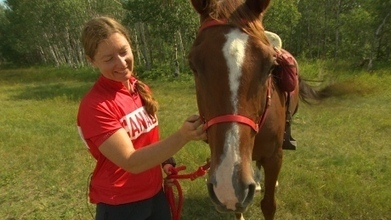 Manitoba horse-rider duo to compete at worlds - CBC.ca   Endurance Riding   Scoop.it