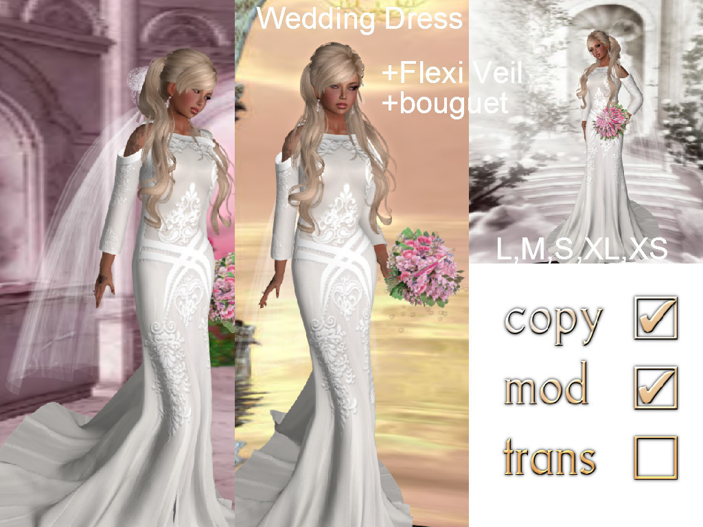 Promo!!! Wedding Dress-50L | 亗 Second Li...