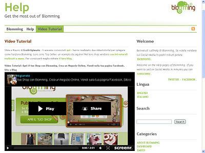 EcoArtigianato natura tradizione benessere: Creare un Negozio Online Gratis, Vendere sulla tua Pagina Facebook, Sito o Blog con Blomming   Crea con le tue mani un lavoro online   Scoop.it