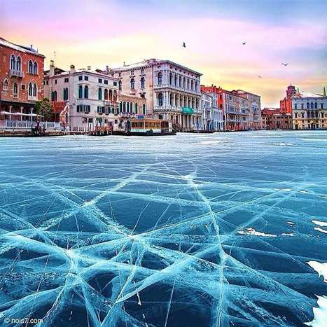 Venezia ghiacciata per il freddo... | The Blog's Revue by OlivierSC | Scoop.it